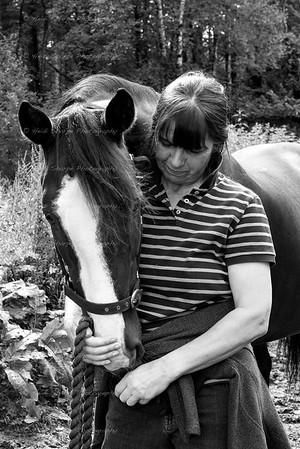 Frances & Horses Galore