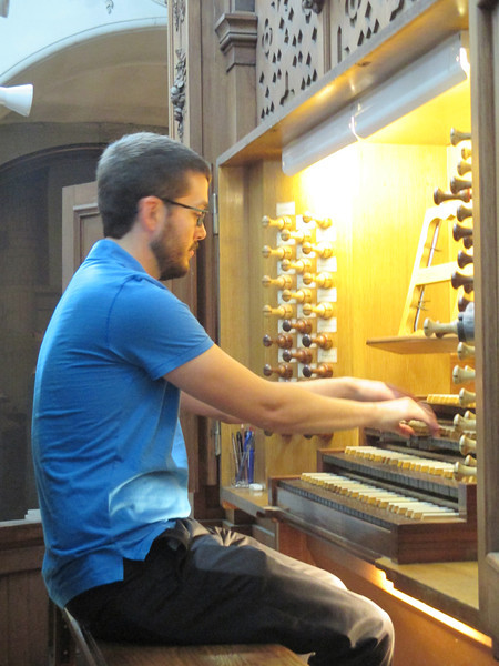 Our Organist