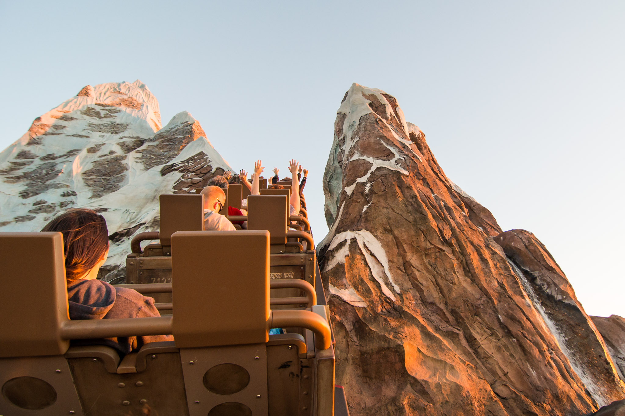 Expedition Everest - Nearing Summit