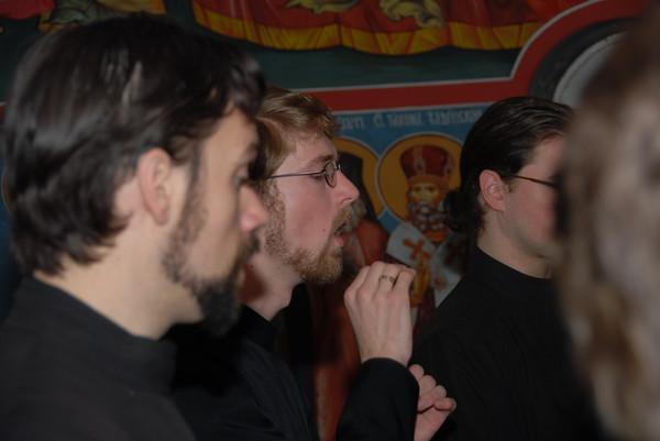 The Holy Trinity Seminary choir