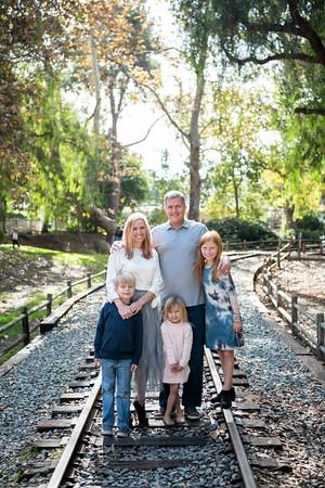 Blake + Shad Family | Old Poway Park Family Photos