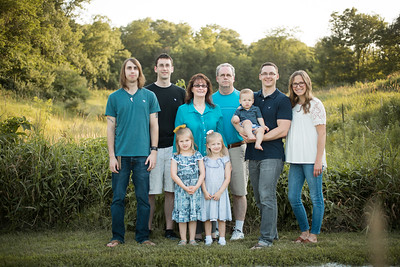 Oberg Family - summer 2018