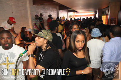 SUN DAY DAY PARTY MAY 4th @ RED MAPLE!!
