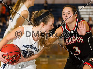 Herndon @ W-L Girls JV Basketball (12 Dec 2013)