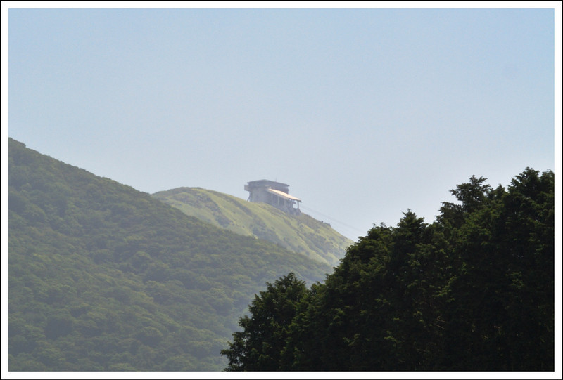 Komagatake, taken from the west side of Lake Ashi.