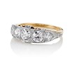 1.70ctw Edwardian 5-stone Old European Cut Diamond Band 1