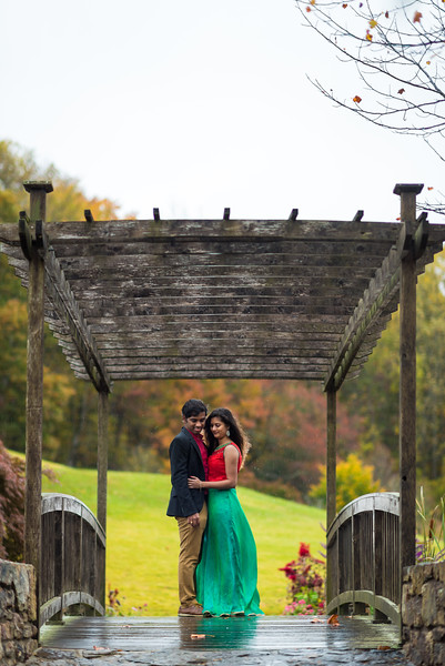 Couple shoot at the Meadowlark Botanical Garden  |  Anusha & Vamshi