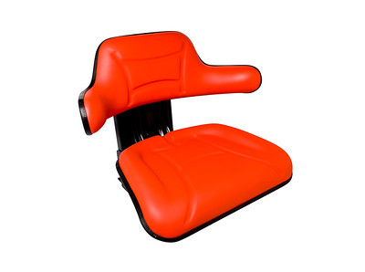 GENERAL PURPOSE SPRING SEAT (RED)