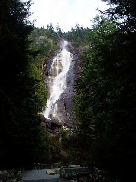 Shannon Falls near to Squamish