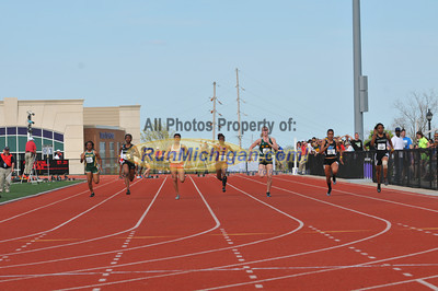 100 Meter Prelims - 2013 GLIAC Outdoor Track and Field Championships