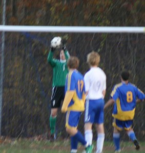 Waterford V. Bacon, 10/29/08 (W 1-0)