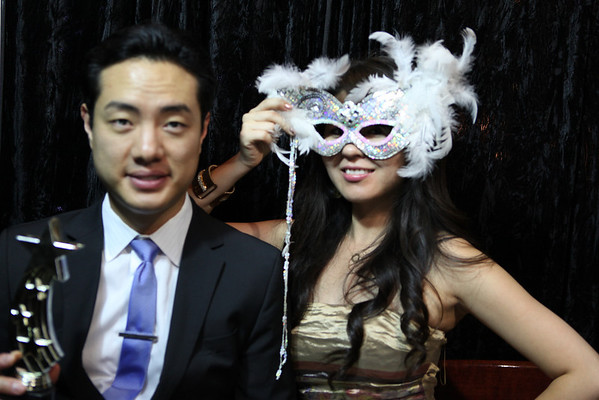 Sam and Grace Wedding Photo Booth Singles