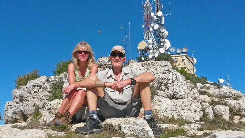 Serra de Monduver summit with Chrissie and Vic