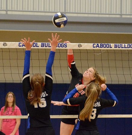HHS volleyball at preseason jamboree