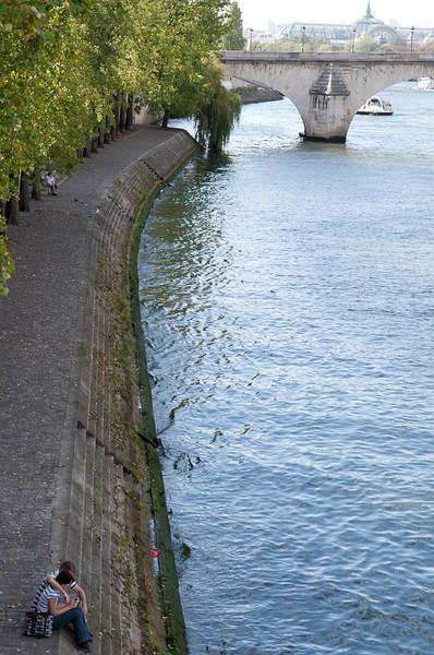 Seine River bank
