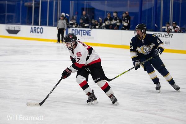 Ice Hockey: Wentzville Holt vs Ft. Zumwalt South