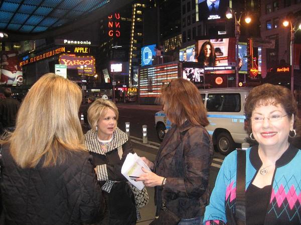 Ladies in New York