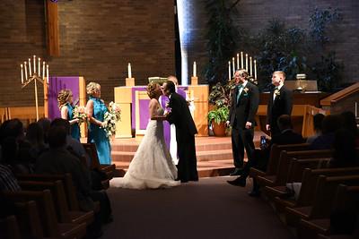 Tracy and Mark - Christ Lutheran Church, Blaine