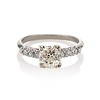 1.48ctw Antique Old European Cut Diamond Ring 0