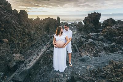Yaiza y Domingo (Sesión embarazo)
