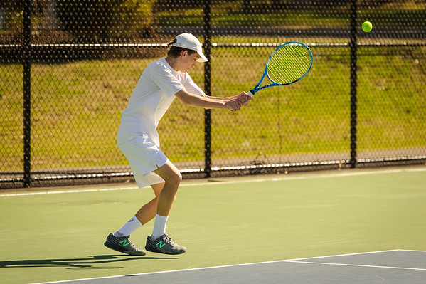 Boys' Varisity Tennis 2019-05-06 vs Manchester Memorial