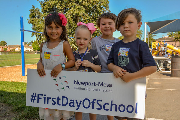 2019/20 First Day of School