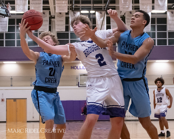 Broughton varsity basketball vs Green Hope. November 20, 2018, MRC_8427