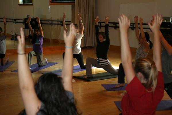 Jill Valle Yoga Class