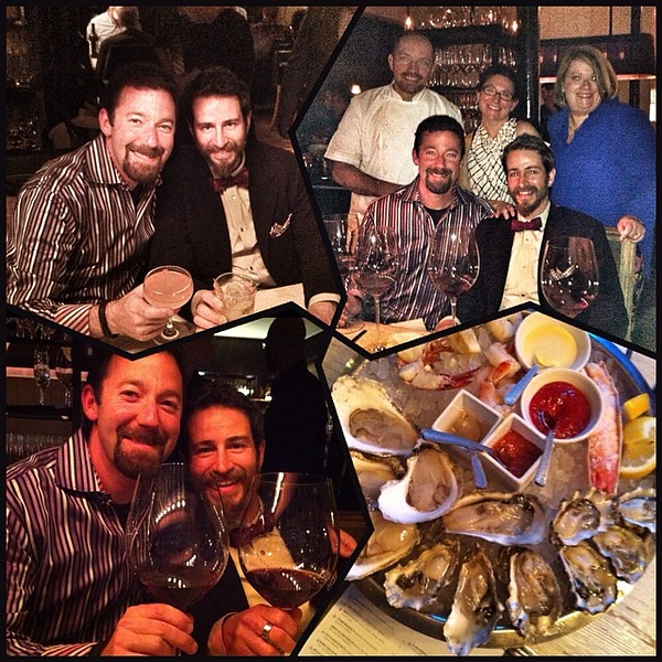 Fish. Oysters. Wine. Cocktails. Followed by cocktails and more oysters. All guided @giuseppetentoii. Fabulous night. Thank you so much!