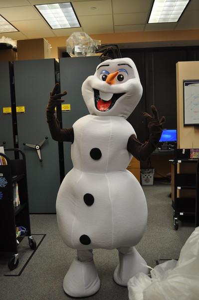 January 2015 Play Along with Olaf