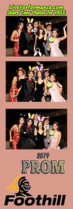 4/13/19 Foothill H.S. Prom PhotoBooth Photo Strips
