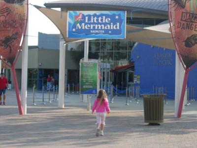 Katherine at the Little Mermaid
