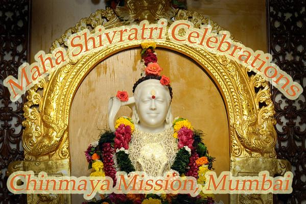 Maha Shivaratri Celebration at Chinmaya Mission, Sandeepany, Mumbai. Feb'09