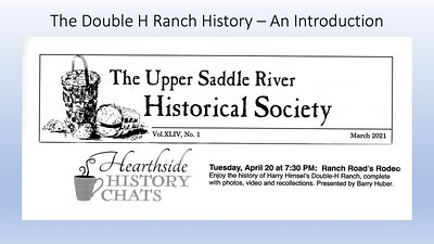 Back at the Double H Ranch - A History