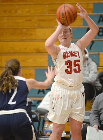 Benet girls basketball vs. Marquette