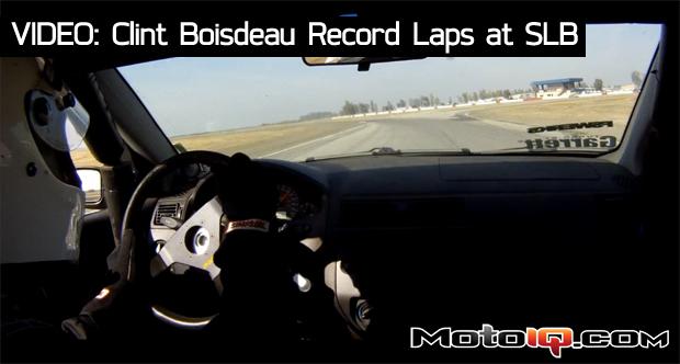 Super lap battle 2011 Clint Boisdeau Class Record Laps