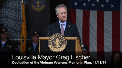 #634 Vietnam Veterans Memorial Rededication, (VIDEO-ONLY) 11/11/14
