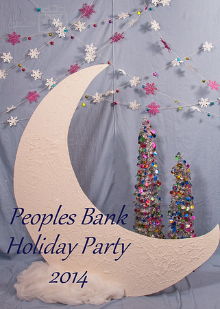 Peoples Bank Holiday Party Photo Booth