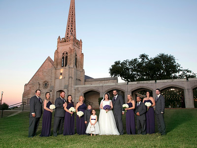 Jeni & Jeremy Wedding at The Bell Tower Ft Worth