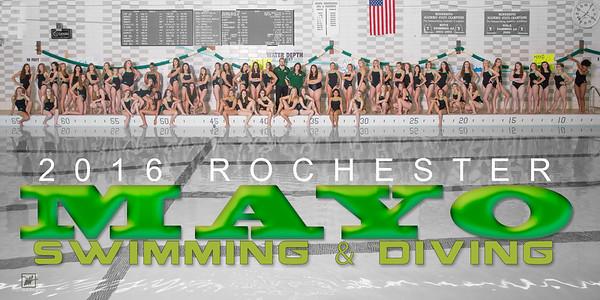 2016 Mayo Girls Swimming