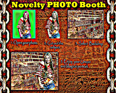 Novelty PHOTO Booth