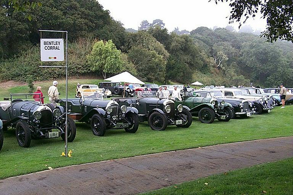 The Bentley corral