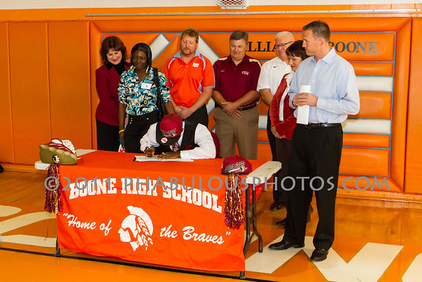 Marvin Bracy National Signing Day - 2012