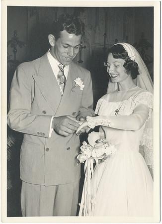Leonard and Helen's wedding