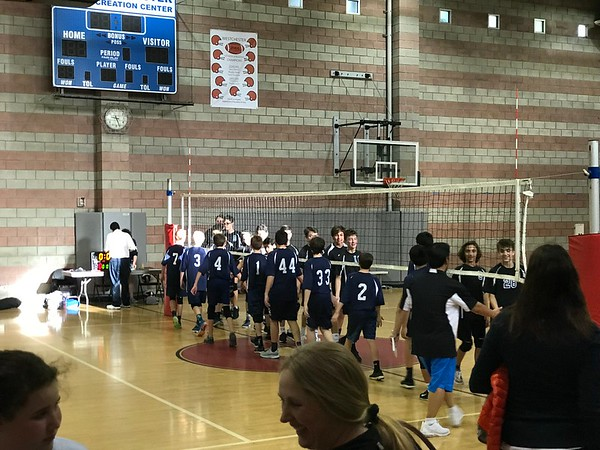 2019.03.20 Zachary volleyball game