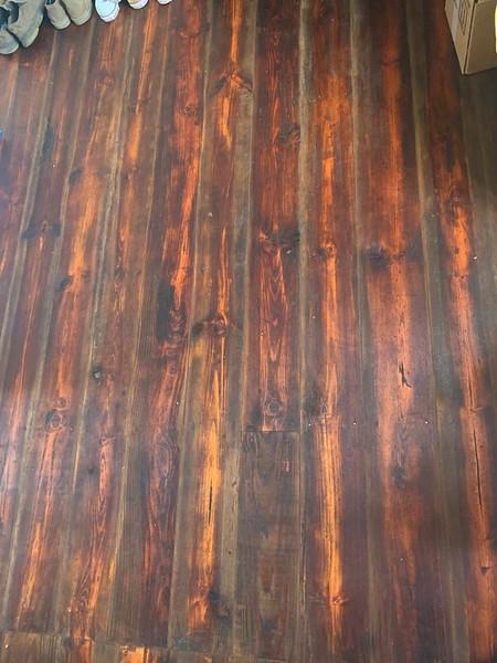 antique wood floor restoration