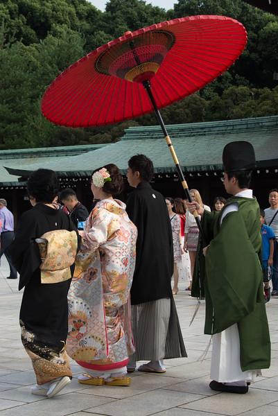 Wedding at Meiji Shrine Tokyo-7118