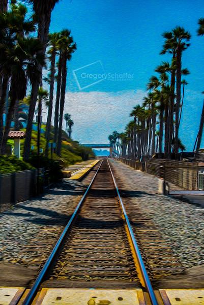 RailroadScape Paintings