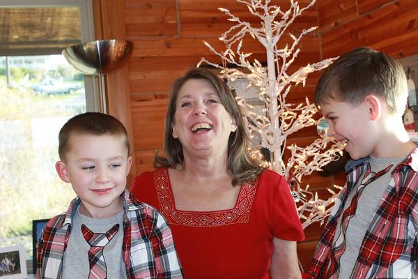 Nana visits the cabin
