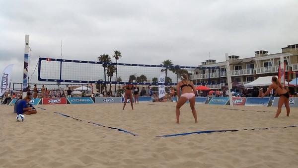 BVCA Tournament Day 2 Videos Francesca + Ashlan (07/08/2015)